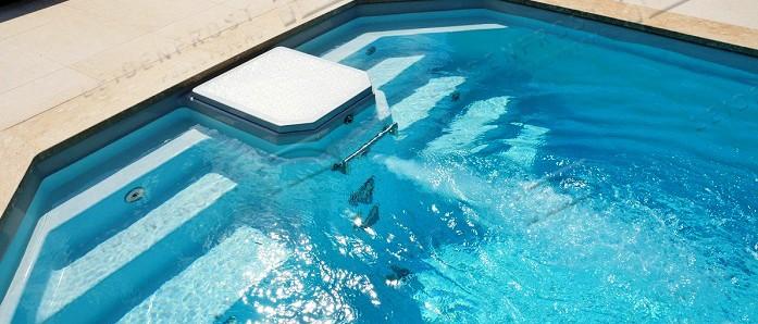 Купить бассейн Leidenfrost. Композитный бассейн Caleta. Продажа, установка, сервис - EURO-POOLS!