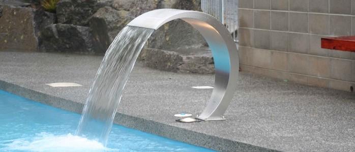 Аттракционы FLUVO для бассейнов от компании EURO-POOLS