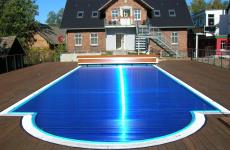 Жалюзийное покрытие для вашего бассейна ROLLO SOLAR